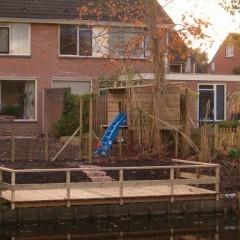 boom hut en tuin Veendam